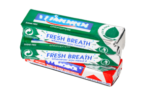 Flexible Packaging Chewing Gum Outer Wrapper